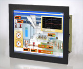 Rack mount PC with LCD touch screen