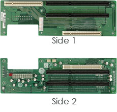 Butterfly Backplane with 2 PCI Slots and 3 ISA Slots