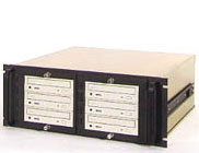 TR-4U-CD/DVD 4U rack mount chassis for archiving and storage