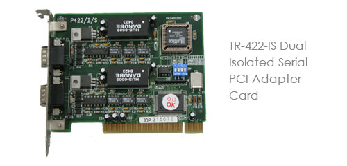 TR-422-IS Dual Isolated Serial PCI Adapter Card