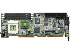Single board computer with Intel Pentium III processor