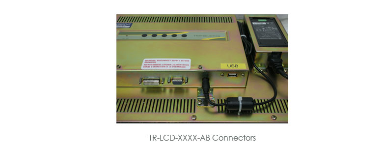 TR-LCD-xxxx-AB Series 15, 17 and 19 Allen-Bradley Replacement Monitors Photo Gallery
